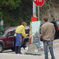 Michelle-Auboiron-Bridges-of-Fame-peinture-live-New-York-San-Francisco-2003--24 thumbnail