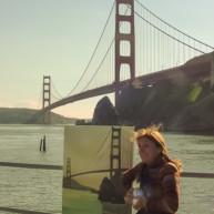 Michelle-Auboiron-Bridges-of-Fame-peinture-live-New-York-San-Francisco-2003--9 thumbnail