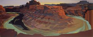 Peinture de l'Ouest américain par Michelle Auboiron - Moab - Utah