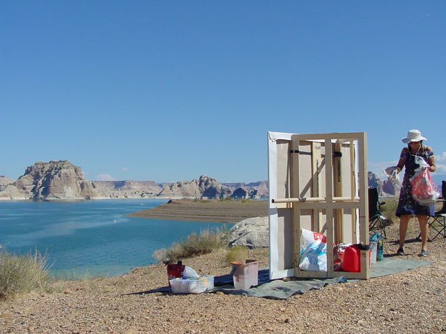 Lake Powell - Utah - Photo : Charles GUY - 2001