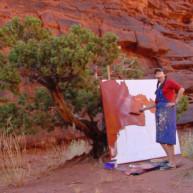 Michelle-Auboiron-Colorado-peintures-Ouest-americain-Utah-Nevada-Arizona-Californie-2001--23 thumbnail