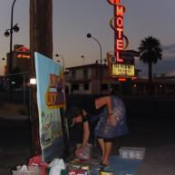 Michelle-Auboiron-Motels-of-the-50-s-peinture-live-a-Las-Vegas-10 thumbnail
