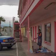 Michelle-Auboiron-Motels-of-the-50-s-peinture-live-a-Las-Vegas-21 thumbnail