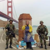 Michelle-Auboiron-Bridges-of-Fame-peinture-live-New-York-San-Francisco-2003--18 thumbnail