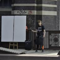 peintures-live-de-chicago-par-michelle-auboiron-13 thumbnail