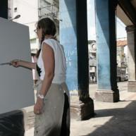 michelle-auboiron-peintre-en-action-a-la-havane-24 thumbnail