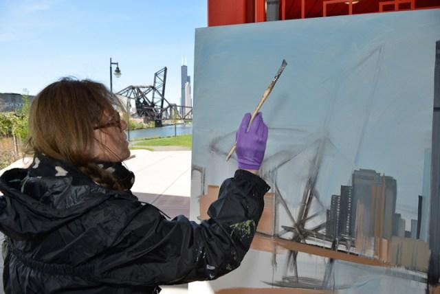 03-Saint-Charles-Air-Line-Bridge-Chicago-painting-Michelle-Auboiron-3