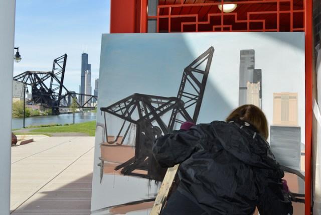 05-Saint-Charles-Air-Line-Bridge-Chicago-painting-Michelle-Auboiron-5