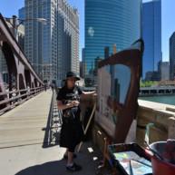 Franklin-Street-Bridge-painting-by-Michelle-Auboiron-3 thumbnail