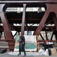 Wells-Street-Bridge-painting-by-Michelle-Auboiron-3 thumbnail