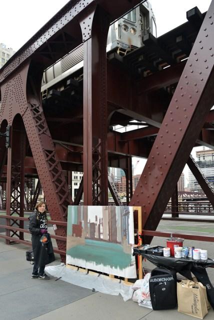 Wells-Street-Bridge-painting-by-Michelle-Auboiron-8