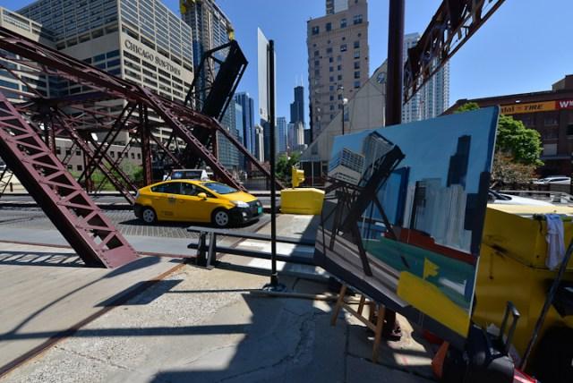 Kinzie-strett-Bridge-Chicago-painting-by-Michelle-Auboiron-7