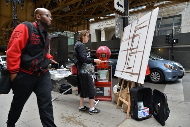 Van-Buren-Dearborn-Chicago-Paining-by-Michelle-Auboiron-2