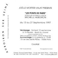Exposition-Les-Ponts-de-Paris-peintures-de-Michelle-Auboiron-Galerie-Verneuil-Saints-Pères-Paris-verso thumbnail