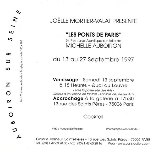 Exposition-Les-Ponts-de-Paris-peintures-de-Michelle-Auboiron-Galerie-Verneuil-Saints-Pères-Paris-verso