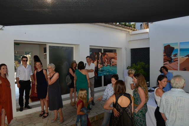 Exposition-Peintures-de-Corse-de Michelle-Auboiron-Barnes-Porto-Vecchio-2017-8