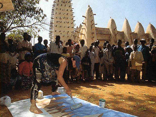 Michelle-AUBOIRON-Peintre-sur-le-Dakar-1999-17