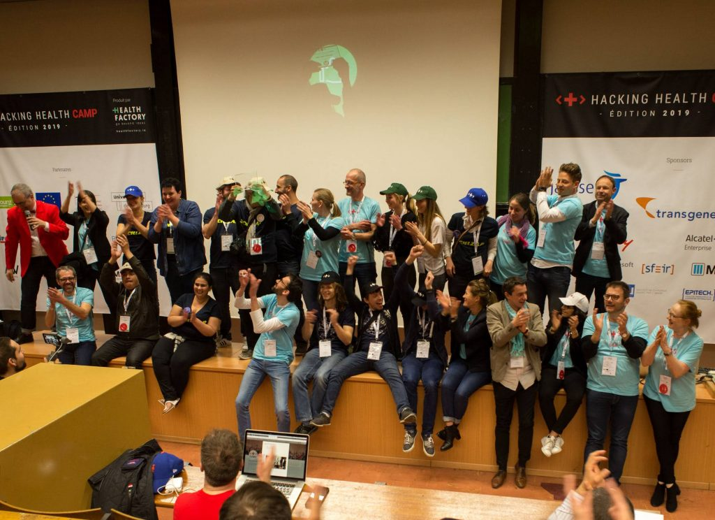 au bon entendeur hacking health camp