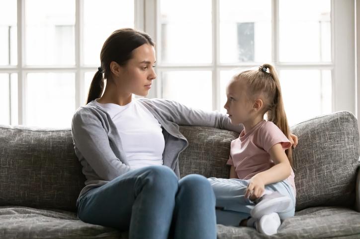discussion mère fille