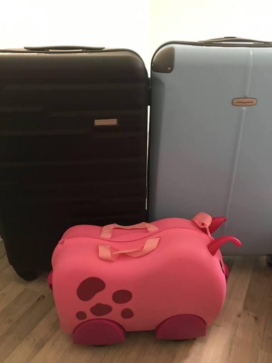 valises voyage roadtrip Ecosse