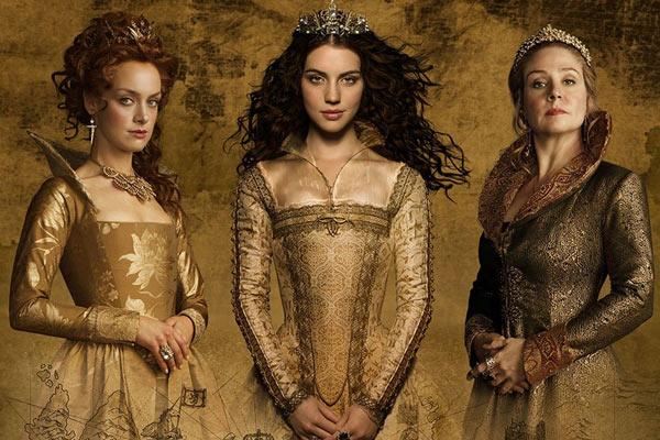 reign Ecosse Marie Stuart France Angleterre reines
