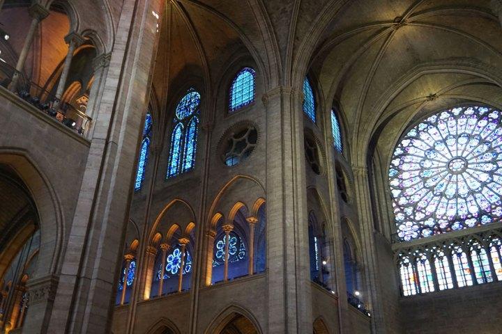 vitraux cathédrale notre dame paris