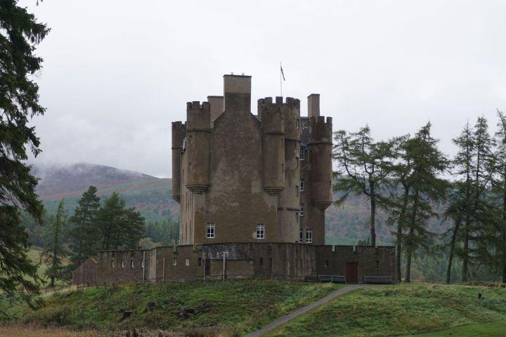 château braemar Ecosse cairngorms parc road trip en famille tourisme