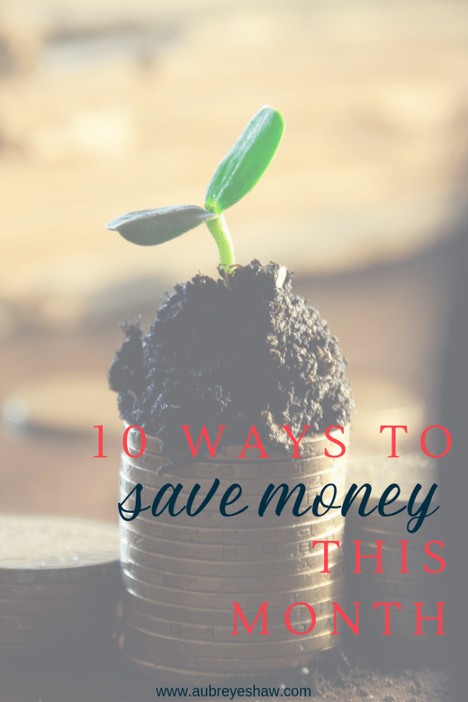 If you're on the hunt for ways to save money and grow your family's savings accounts, here are 10 ideas that we use to keep our budget on track.