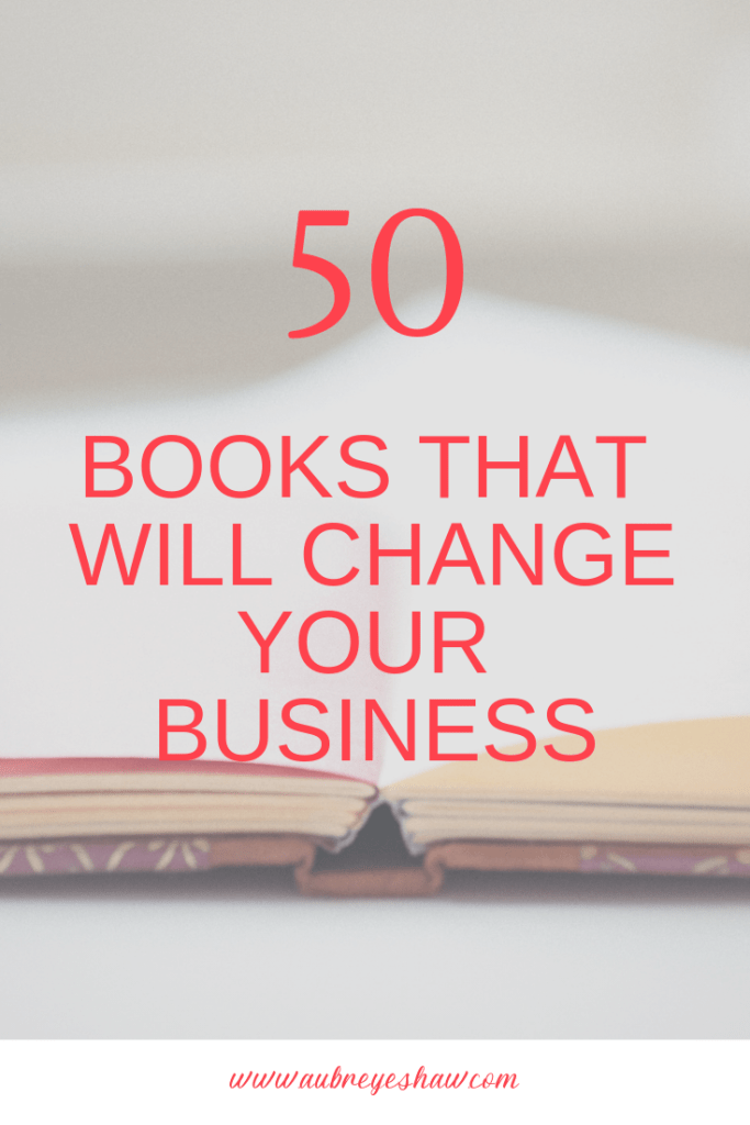 If you've set big business or income goals, upgrading your minds will help you achieve them. Here are 50 books that will change your business and finances.