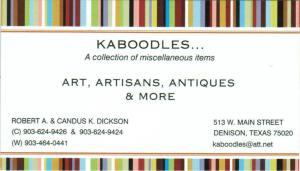 About Us — Kaboodles, Denison TX