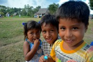 Some cute kiddos that liked my camera in Peru