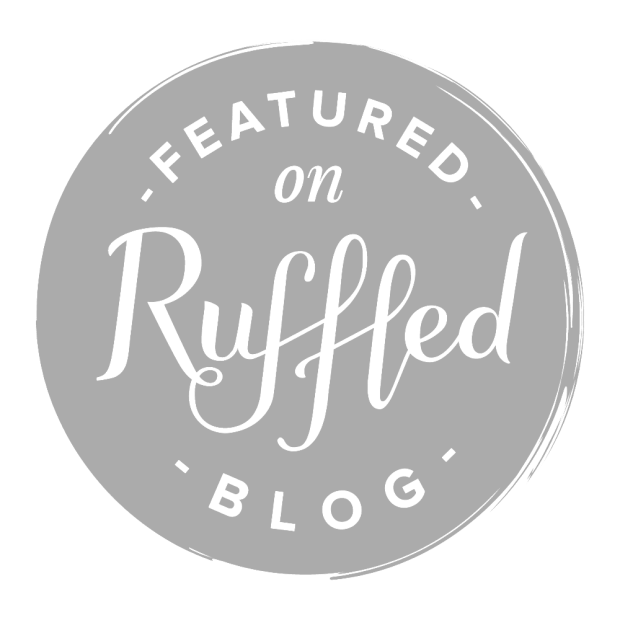 ruffled blog featured button
