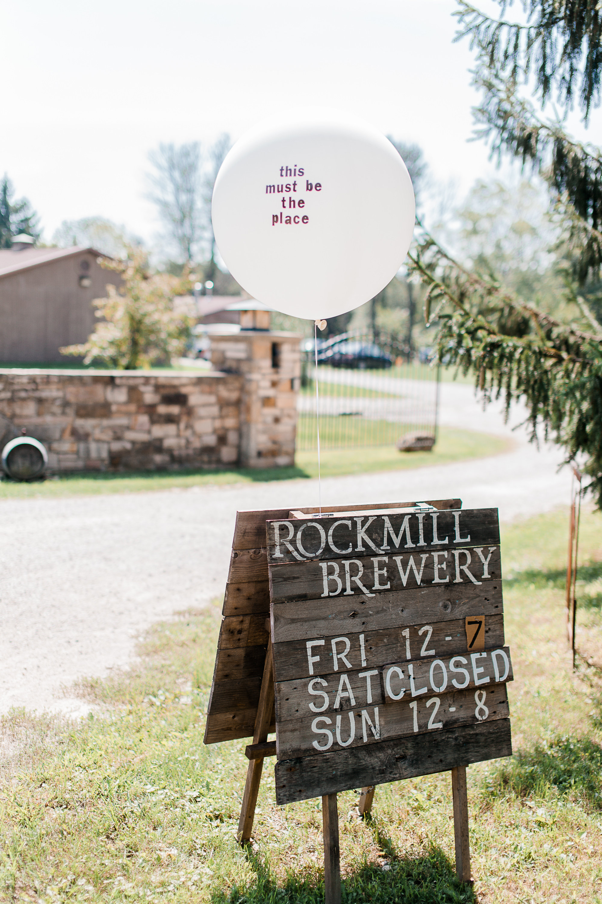 wedding at rockmill brewery- auburn and ivory