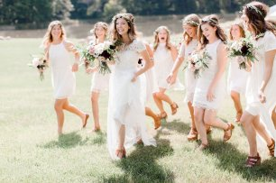 rockmill brewery summer wedding, the knot ohio