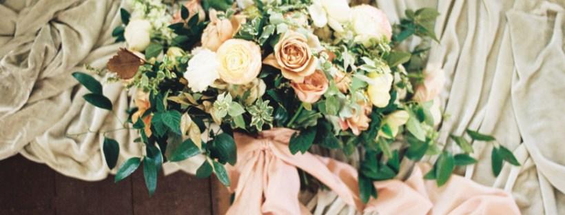 Hamilton Musical inspired wedding bouquet