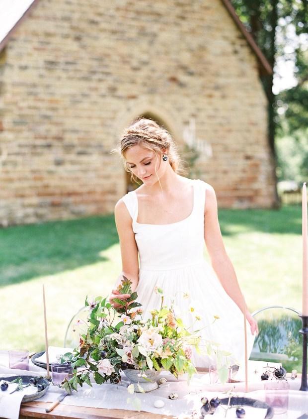 fine art film photography, columbus ohio, painting inspired wedding design