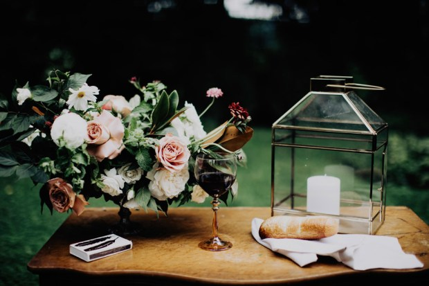 communion for a wedding ceremony ideas