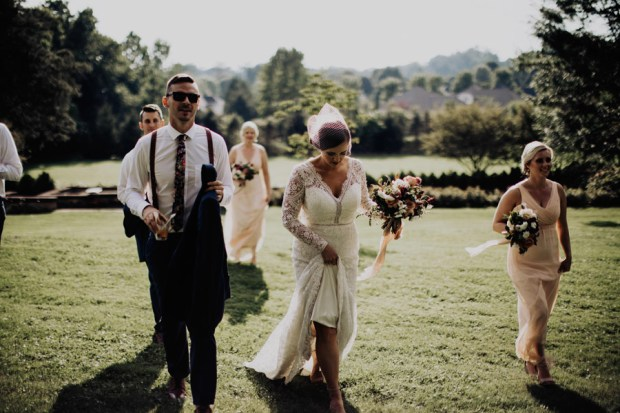 southern inspired wedding style in Columbus Ohio
