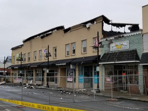 3-alarm fire, vrfa, heritage building fire, heritagebldgfire, aubrun downtown, main street