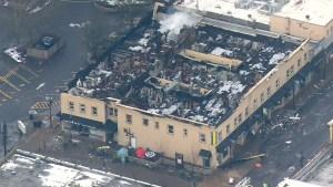 auburn, 3-alarm fire, heritage building, burnt building, main street