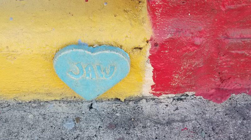 Auburn Hearts, Hearts around Auburn, City of Auburn, Auburn, Main Street, Love your city, clay heart