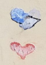 Auburn Hearts, Ghost Hearts, Hearts of Auburn, Street Art, Guerilla Art, City of Auburn, Brick Heart, Lego Heart
