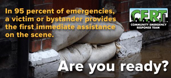 CERT, city of auburn, city of auburn, CERT program, community emergency response team