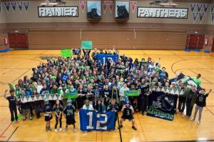 12th man, Rainier Middle School, Schaper, ASD