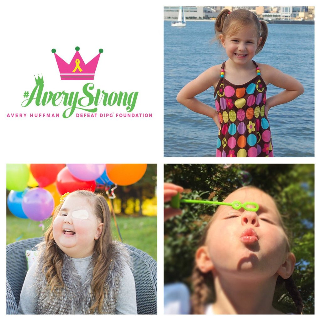 avery huffman, avery huffman defeat dipg foundation, #averystrong, #brAvery