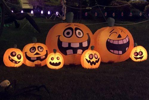 Neighbors host Halloween food drive in honor of Officer Moreno