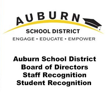 ASD School Board recognize October's Outstanding Student and Staff Member