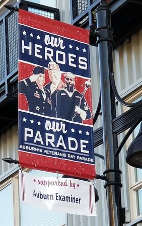 Auburn's Veterans Day Parade, 53rd Auburn's Veterans Day Parade, Veterans Day, Veterans Day Parade, Auburn Examiner