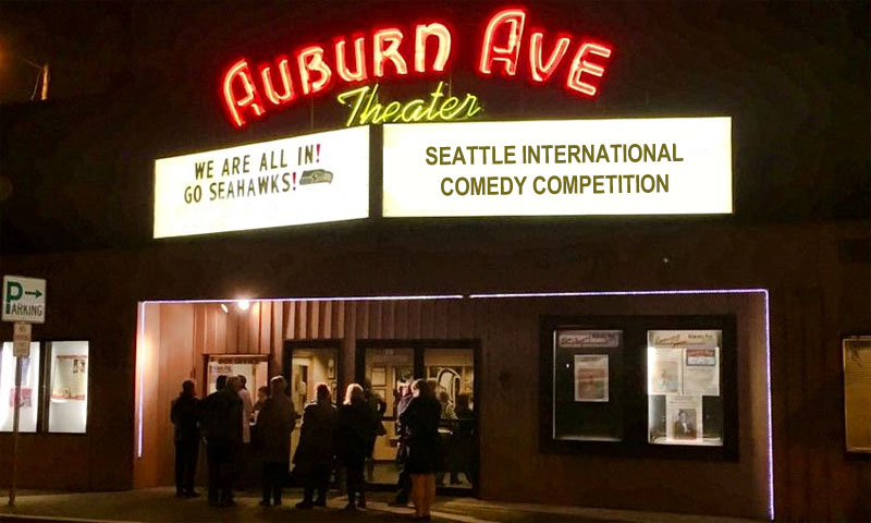 Seattle International Comedy Competition at the Auburn Ave Theater