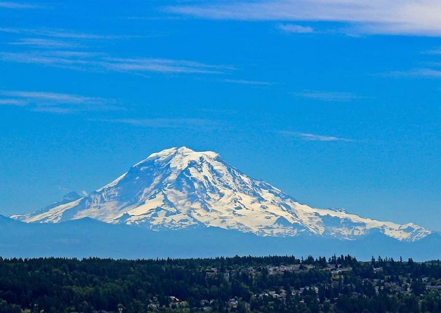 Mt. Rainier, Auburn Wa, City of Auburn, USGS, Volcano, Centennial Viewpoint Park, Nature Photography